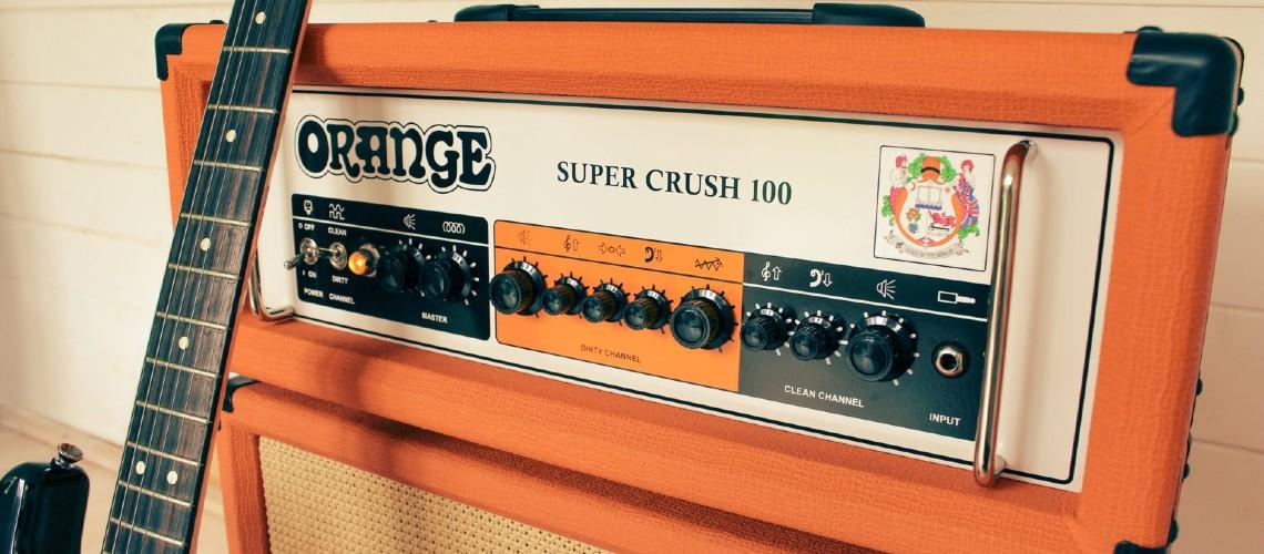 Super Crush 100: A Orange Aumentou a Sua Série de Amplificadores Crush