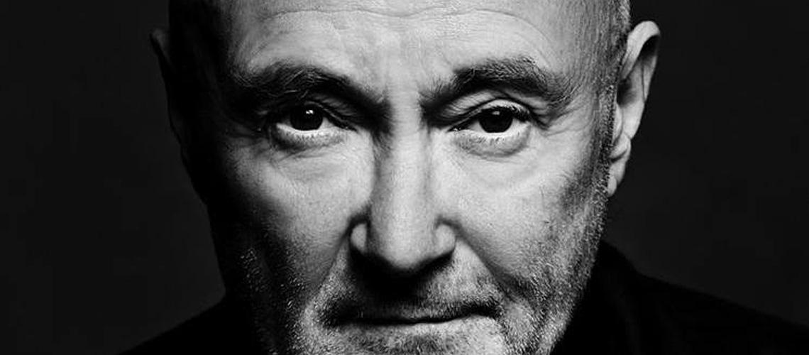 Phil Collins diz que mal Consegue Segurar uma Baqueta