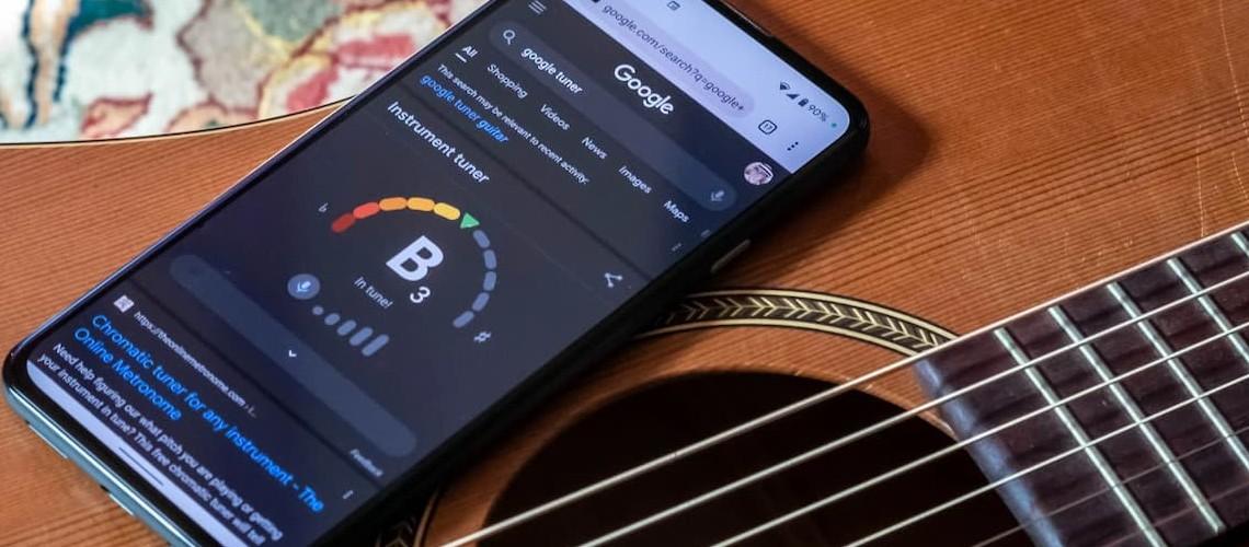 Google Disponibiliza App de Afinação Cromática
