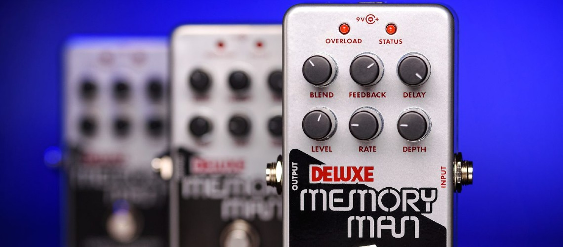 Electro-Harmonix Deluxe Memory Man em Versão Nano