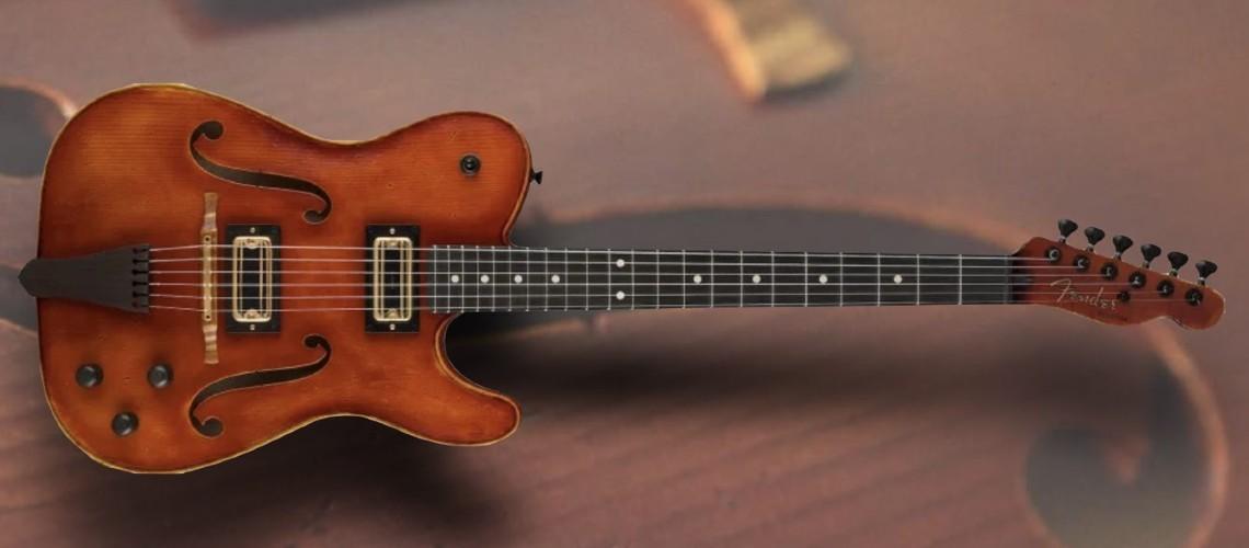 Fender Custom Shop Transforma Stradivarius Numa Telecaster