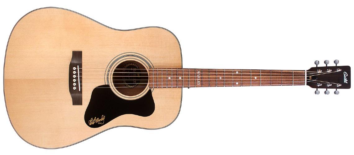 Guild Guitars, Nova Acústica com Assinatura de Bob Marley