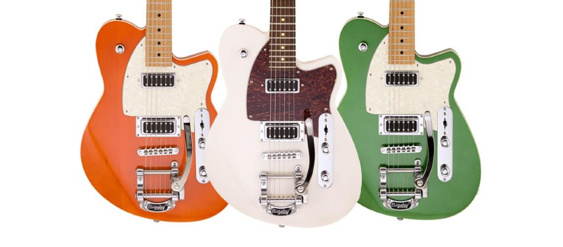 Reverend Guitars Actualiza o Modelo Flatroc
