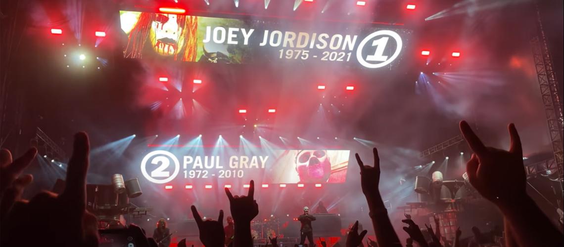 Slipknot Homenageiam Joey Jordison e Paul Gray no Knotfest Iowa [Vídeo]